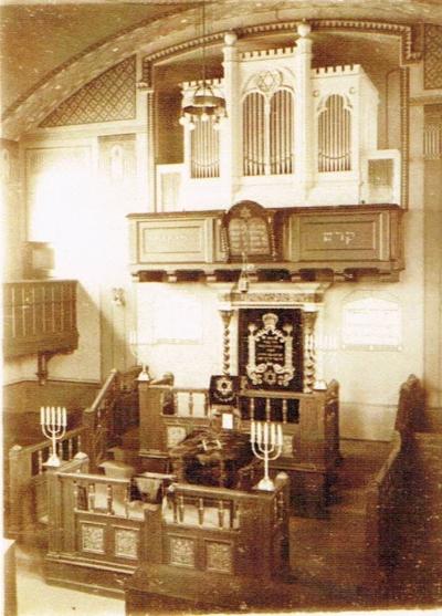 Synagode innen